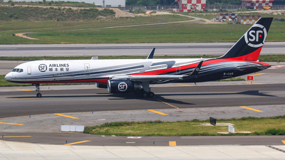 A picture of B1145 - Boeing 7572B7(PCF) - SF Airlines - © Cheng Wei Ho