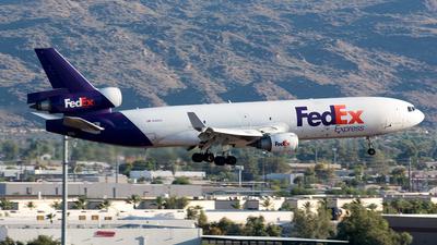 N586FE - McDonnell Douglas MD-11(F) - FedEx