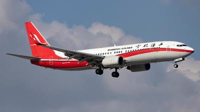 B-5315 - Boeing 737-86D - Shanghai Airlines