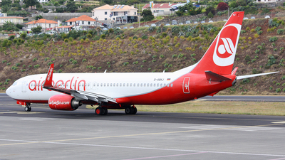 D-ABKJ - Boeing 737-86J - Air Berlin