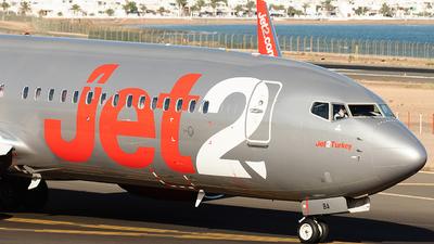 G-JZBA - Boeing 737-8MG - Jet2.com
