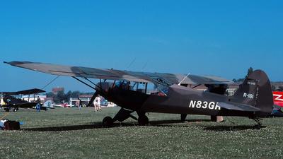 N83GR - Piper PA-18-135 Super Cub - Private
