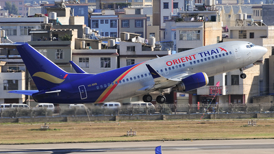 HS-BRB - Boeing 737-3T0 - Orient Thai Airlines