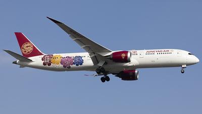A picture of B1115 - Boeing 7879 Dreamliner - Juneyao Airlines - © jehrenstoneman