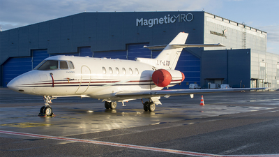 LY-LTD - Hawker Beechcraft 800XP - Classic Jet (Charter Jets)