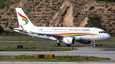 B-30ER - Airbus A319-115 - Tibet Airlines