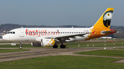 LZ-FBA - Airbus A319-112 - Fastjet