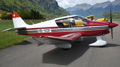 HB-KOF - Robin DR400/140B Dauphin - Motorfluggruppe Thurgau