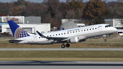 A picture of N88310 - Embraer E175LR - United Airlines - © DJ Reed - OPShots Photo Team