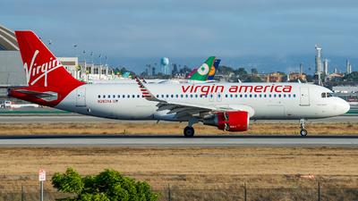 N283VA - Airbus A320-214 - Virgin America