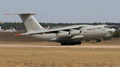 KJ-3454 - Ilyushin IL-78MKI - India - Air Force