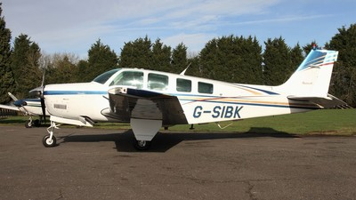 G-SIBK - Beechcraft A36 Bonanza - Private