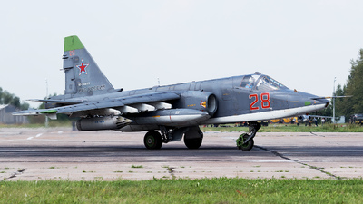 RF-93885 - Sukhoi Su-25SM Frogfoot - Russia - Air Force