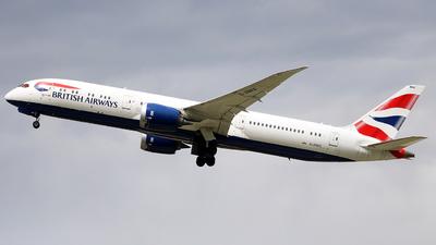 A picture of GZBKE - Boeing 7879 Dreamliner - British Airways - © Dominik  Hermann