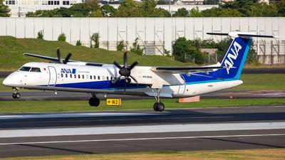 A picture of JA855A - De Havilland Canada Dash 8400 - All Nippon Airways - © Tokubee