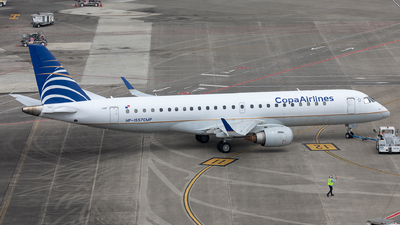 HP-1557CMP - Embraer 190-100IGW - Copa Airlines