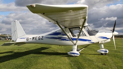G-MEGZ - Ikarus C-42 FB100 - Private