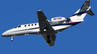 N2796 - Cessna 525A CitationJet CJ2 - Private
