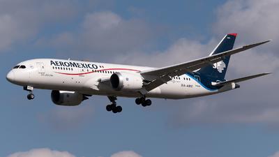 A picture of XAAMX - Boeing 7878 Dreamliner - Aeromexico - © Sergio Basterrechea