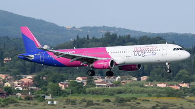 HA-LXJ - Airbus A321-231 - Wizz Air