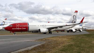 A picture of EIFHA - Boeing 7378JP - Norwegian - © Stian Haabeth