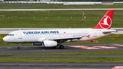 TC-JPA - Airbus A320-232 - Turkish Airlines