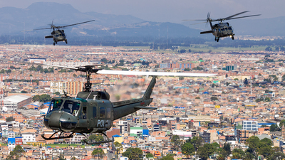 PNC-0712 - Bell UH-1H Huey II - Colombia - Police