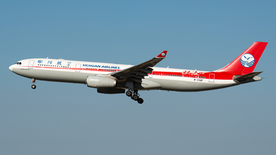 B-308F - Airbus A330-343 - Sichuan Airlines