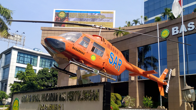 HR-2601 - Bell 206B JetRanger - Indonesia - National Search and Rescue Agency (Basarnas)