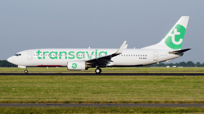PH-GUV - Boeing 737-8EH - Transavia Airlines