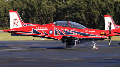 A54-030 - Pilatus PC-21 - Australia - Royal Australian Air Force (RAAF)