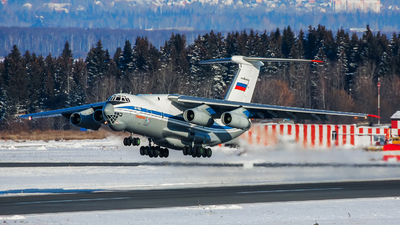 RF-76740 - Ilyushin IL-76MD - Russia - Air Force