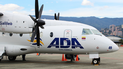 HK-4849 - Dornier Do-328-100 - ADA Aerolínea de Antioquía