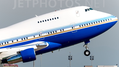 VP-BLK - Boeing 747SP-31 - Private