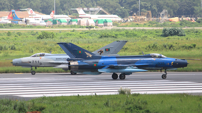 F935 - Chengdu F-7BG - Bangladesh - Air Force