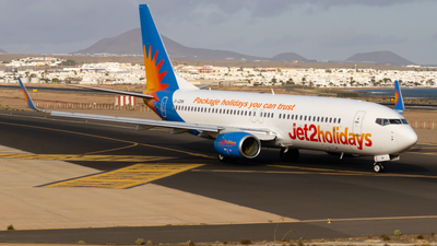 A picture of GJZHN - Boeing 7378MG - Jet2 - © aaron_gcrr