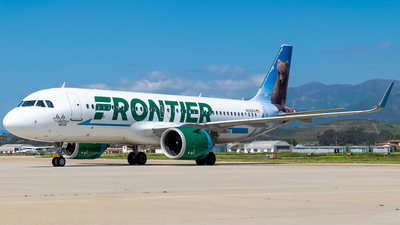 N335FR - Airbus A320-251N - Frontier Airlines