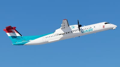 LX-LQB - Bombardier Dash 8-Q402 - Luxair - Luxembourg Airlines