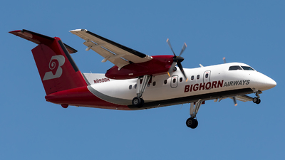 N990BH - Bombardier Dash 8-102 - Bighorn Airways