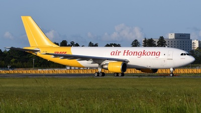 A picture of BLDA - Airbus A3004F605R - Air Hong Kong - © Spotter T.K