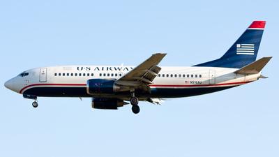 N516AU - Boeing 737-3B7 - US Airways