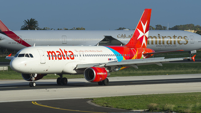 9H-AEP - Airbus A320-214 - Air Malta