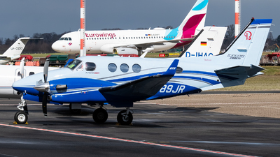 N689JR - Beechcraft C90GTi King Air - Private