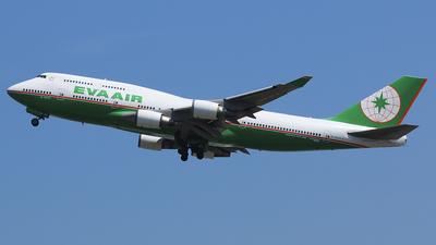 B-16411 - Boeing 747-45E - Eva Air