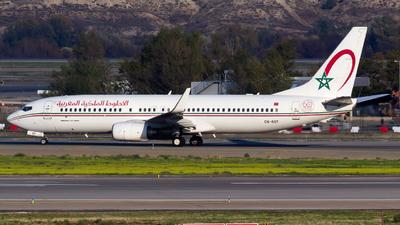 A picture of CNROY - Boeing 7378B6 - Royal Air Maroc - © Alejandro Gutierrez Martin