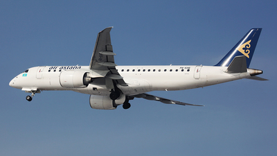 P4-KHE - Embraer 190-300STD - Air Astana