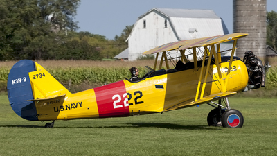 N45222 - Naval Aircraft Factory N3N-3 Yellow Peril - Private