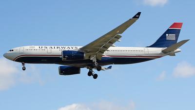 N283AY - Airbus A330-243 - US Airways