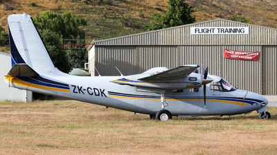 ZK-CDK - Aero Commander 680F - Private