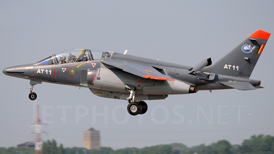 AT-11 - Dassault-Dornier Alpha Jet 1B+ - Belgium - Air Force